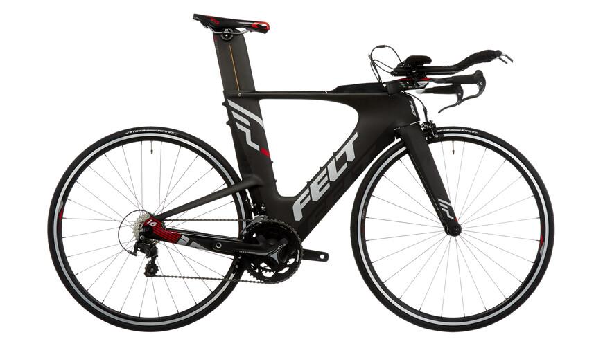 Felt IA16 triathlon fiets zwart